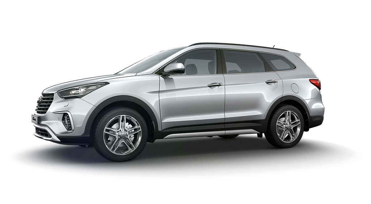 Hyundai Grand Santa Fe lateral