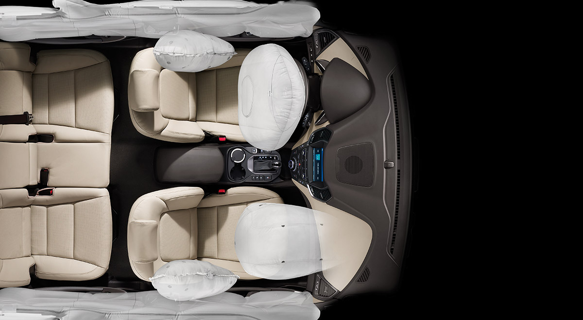 Hyundai Grand Santa Fe 6 Airbags