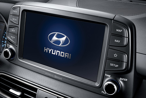 Hyundai Kona Pantalla multimedia de 8 pulgadas con Apple CarPlay y Android Auto