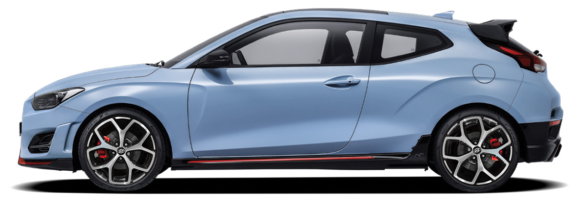 Hyundai Veloster N Lateral